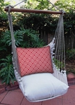 Hip Red Squares Hammock Chair Swing Set