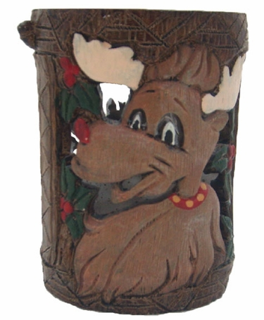 Holiday Garden Tiki Stakes - Reindeer (Set of 4) - Click to enlarge