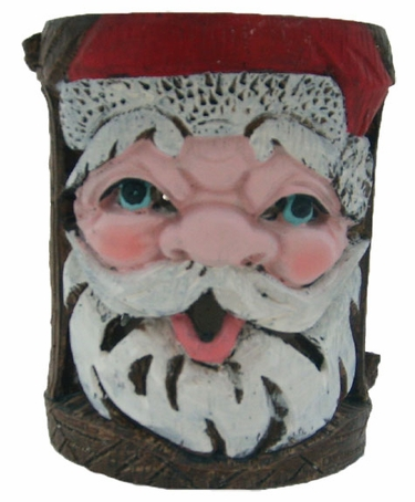 Holiday Garden Tiki Stakes - Santa (Set of 4) - Click to enlarge