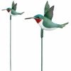 Hummingbird Garden Stakes (Set of 6)