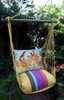 Hummingbird & Ladybug Hammock Chair Swing Set