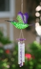 Hummingbird LED Light Wind Chime