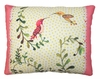 Hummingbirds w/Border Outdoor Pillow