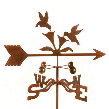 Hummingbirds Weathervane - Click to enlarge