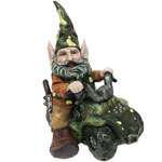 Hunter Gnome on ATV