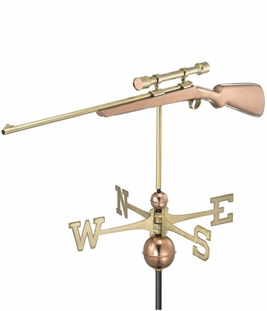Hunting Rifle Weathervane - Click to enlarge
