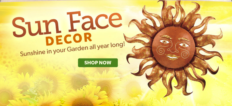 Sun Face Decor