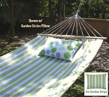 Iris Garden Sundure Fabric Hammock - Click to enlarge