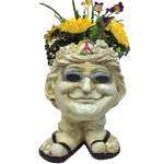 Janice Face Planter - Antique Finish