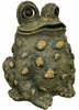 Jumbo Tall Toad - Dark Natural