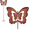 "31"" Kinetic Butterfly Wind Spinner"