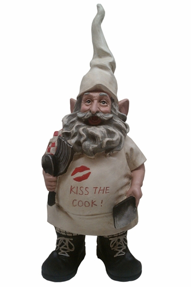Kiss the Cook Gnome - Click to enlarge