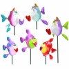 Kissing Fish Garden Stakes (Set of 6)