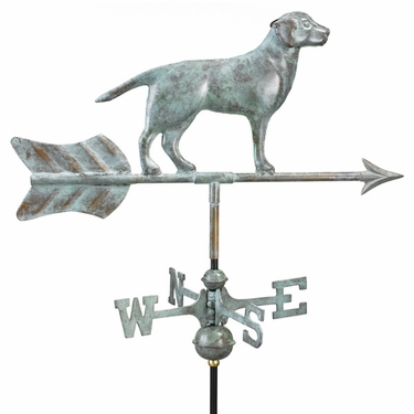 Labrador Retriever Weathervane - Click to enlarge