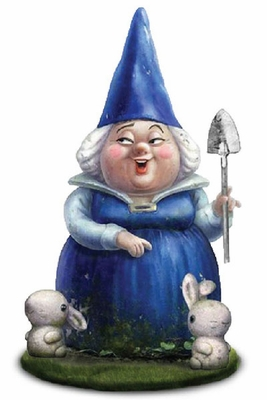 Lady Blueberry Gnome Statue - Click to enlarge