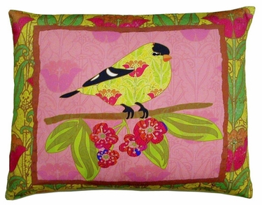 Ladybird Bright 3 Outdoor Pillow - Click to enlarge