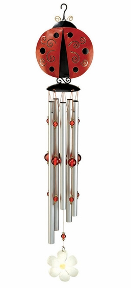 Ladybug Wind Chime - Click to enlarge