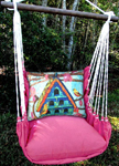 Large Birdhouse Hammock Chair Swing Set
