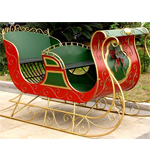 "Large Christmas Sleigh ""PHILADELPHIA"""