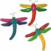 Large Dragonfly Wall Decor (Set of 3)
