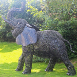"Large Elephant Decor ""Slanionok"""