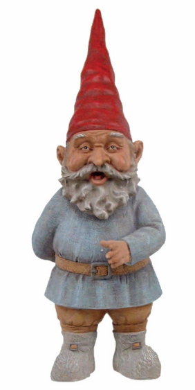 Large Grimmbel Garden Gnome - Click to enlarge