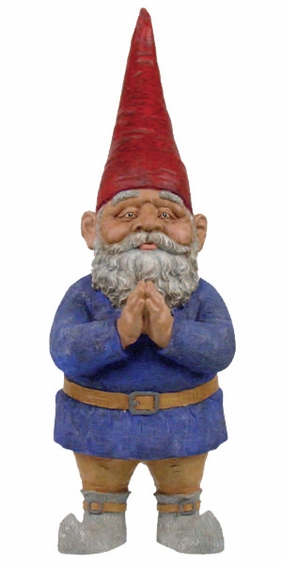 Large Mordecai Garden Gnome - Click to enlarge