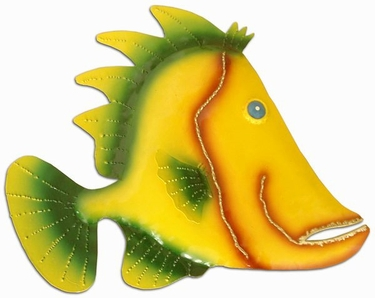 Large Yellow Fin Wall Art - Click to enlarge