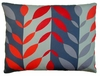 Lava Leaves  Outdoor Pillow