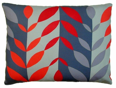 Lava Leaves  Outdoor Pillow - Click to enlarge