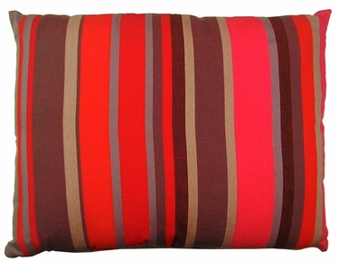 Lava Stripe Outdoor Pillow - Click to enlarge