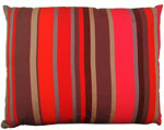 Lava Stripe Outdoor Pillow