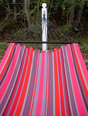 Lava Stripe Sundure Fabric Hammock - Click to enlarge