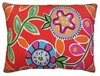 Le Jardin Flower Outdoor Pillow