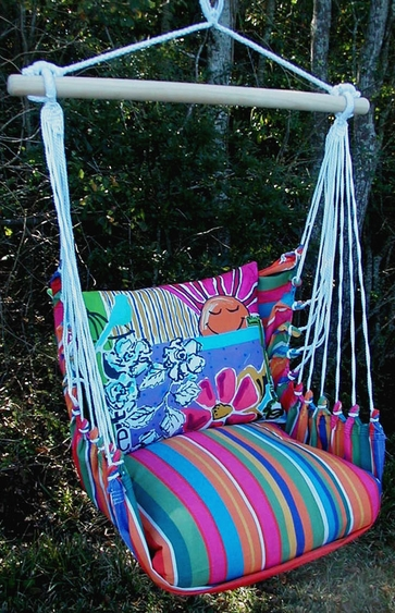 Le Jardin Hope Hammock Chair Swing Set - Click to enlarge