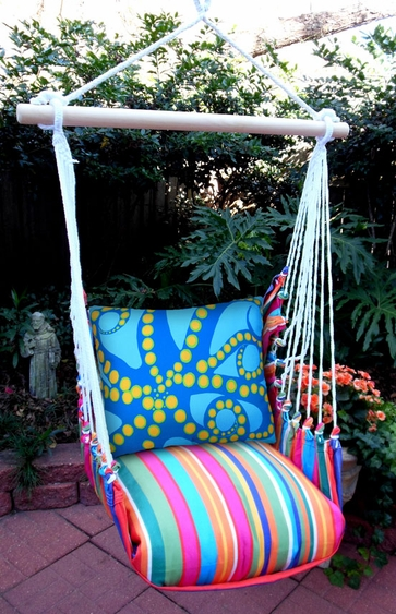 Le Jardin Octopus Hammock Chair Swing Set - Click to enlarge