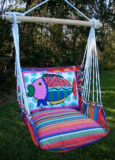 Le Jardin Splish Splash Hammock Chair Swing Set - Click to enlarge