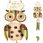 Life is a Hoot Wind Chime