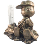 Linus Rain Gauge - Antique Bronze