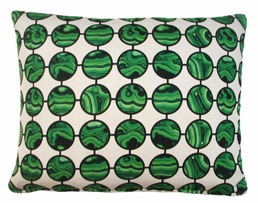 Malachite Green Outdoor Pillow - Click to enlarge