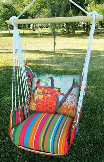 Le Jardin Watering Can Hammock Chair Swing Set - Click to enlarge
