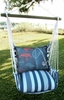 Marina Stripe Fishing Rods Hammock Chair Swing Set
