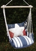 Marina Stripe Proud American Hammock Chair Swing Set