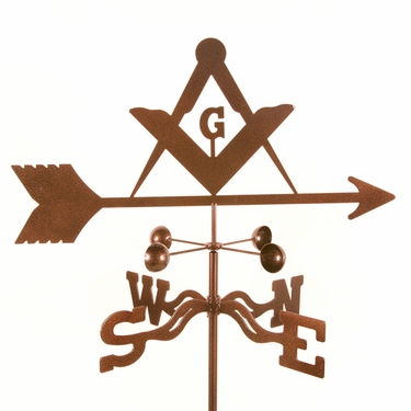 Masons Weathervane - Click to enlarge