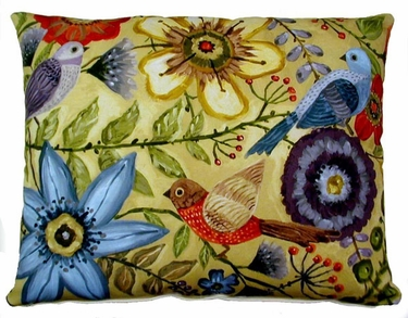McKenzie's Garden 3 Outdoor Pillow - Click to enlarge
