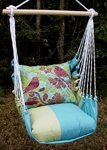 Meadow Mist Duet Bird Hammock Chair Swing Set - Click to enlarge