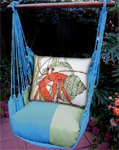 Meadow Mist Hermit Crab Hammock Chair Swing Set
