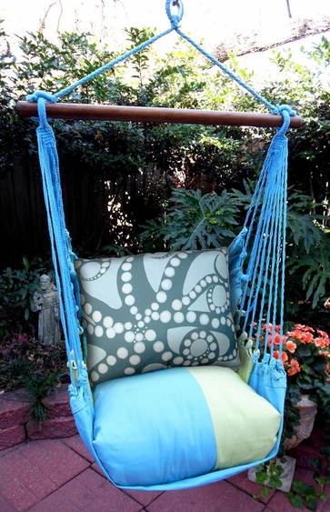 Meadow Mist Octopus Hammock Chair Swing Set - Click to enlarge