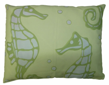 Meadow Seahorses Outdoor Pillow - Click to enlarge