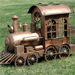 Medium Christmas Train - Copper